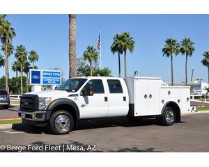 Ford F-550 Crew Cab 4X4 Welder Service Body
