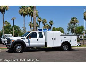 Ford F-550 Super Cab 4X4 Mechanics/Welder Body