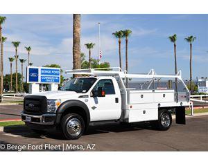 Ford F-550 Reg Cab 4x4 Contractor Body