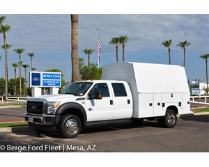 Ford F-550 Crew Cab KUVcc Service Body Truck