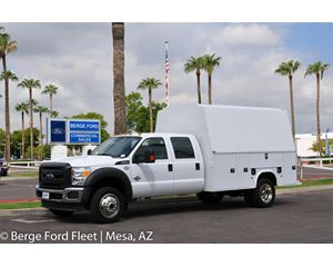 2016 Ford F-550 Crew Cab 4X4 KUVcc Service/Utility Body Truck