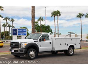 2016 Ford F-550 Reg Cab Service Body / Utility Truck