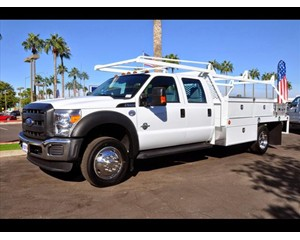 Ford F-550 Crew Cab Contractor Body Truck