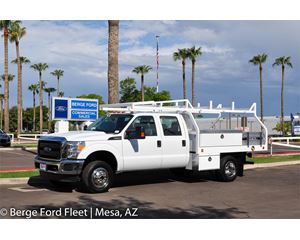 Ford F350 Crew Cab 4X4 Contractor Body