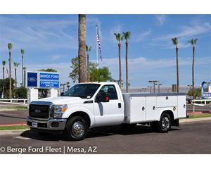 2016 Ford F350 Reg Cab Service Body / Utility Truck