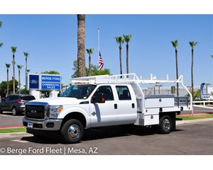 2016 Ford F350 Crew Cab 4X4 Contractor Body