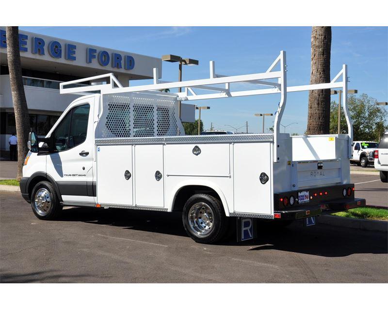 2015 ford transit service body utility truck for sale mesa az. Black Bedroom Furniture Sets. Home Design Ideas