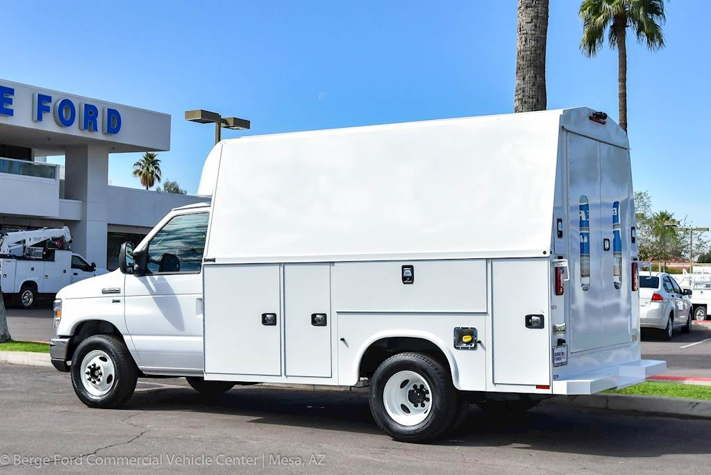 2018 Ford E-350 KUV High Roof Enclosed Dually Service Van Body For Sale, 15 Miles | Mesa, AZ ...