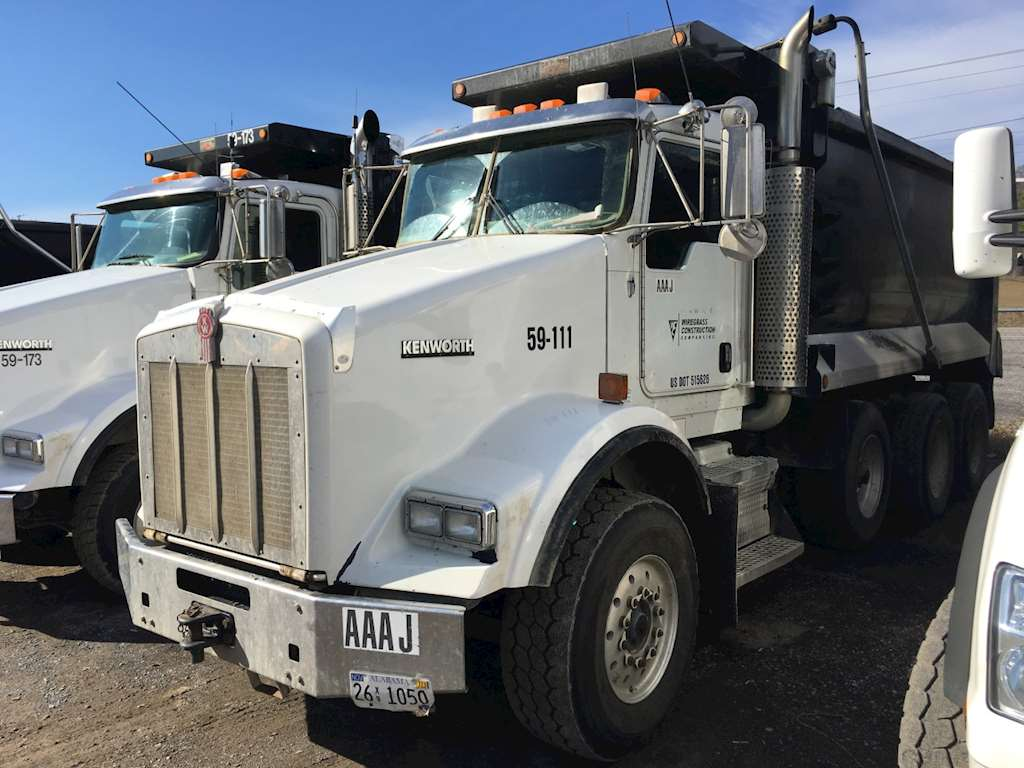 2007 Kenworth T800 Dump Truck For Sale | Montgomery, AL ...Kenworth Dump Trucks For Sale In Alabama