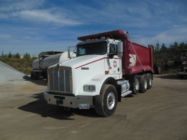 2011 Kenworth T800 Dump Truck For Sale, 248,927 Miles ...Kenworth Dump Trucks For Sale In Alabama