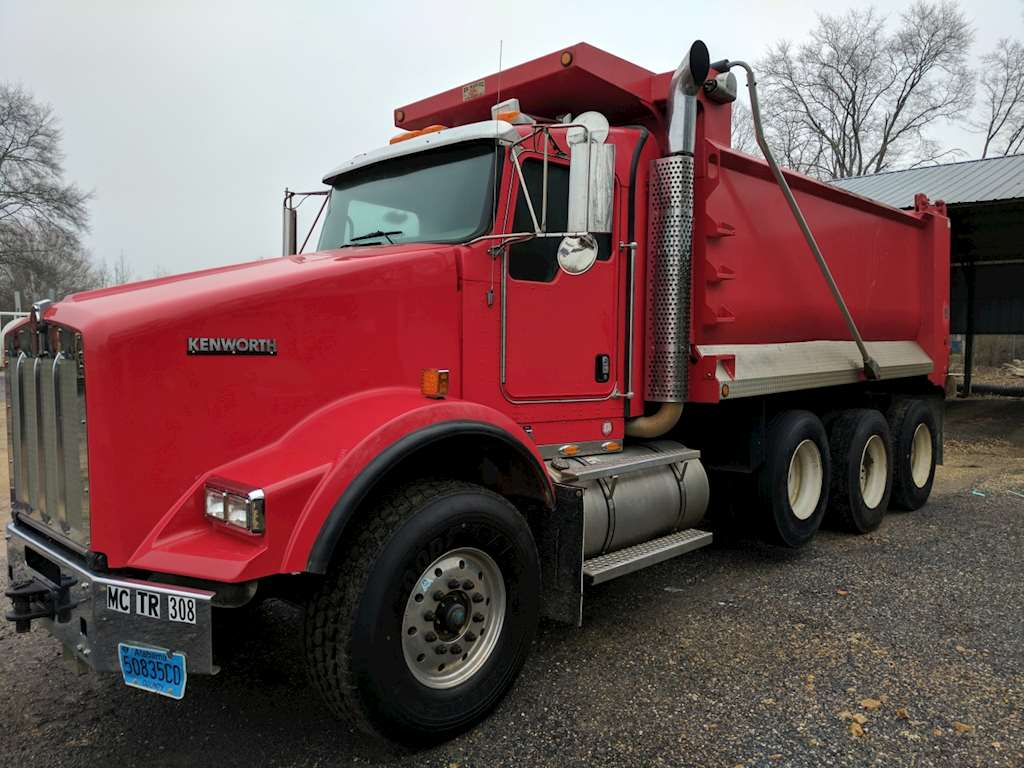 2011 Kenworth T800 Dump Truck For Sale, 54,837 Miles ...Kenworth Dump Trucks For Sale In Alabama