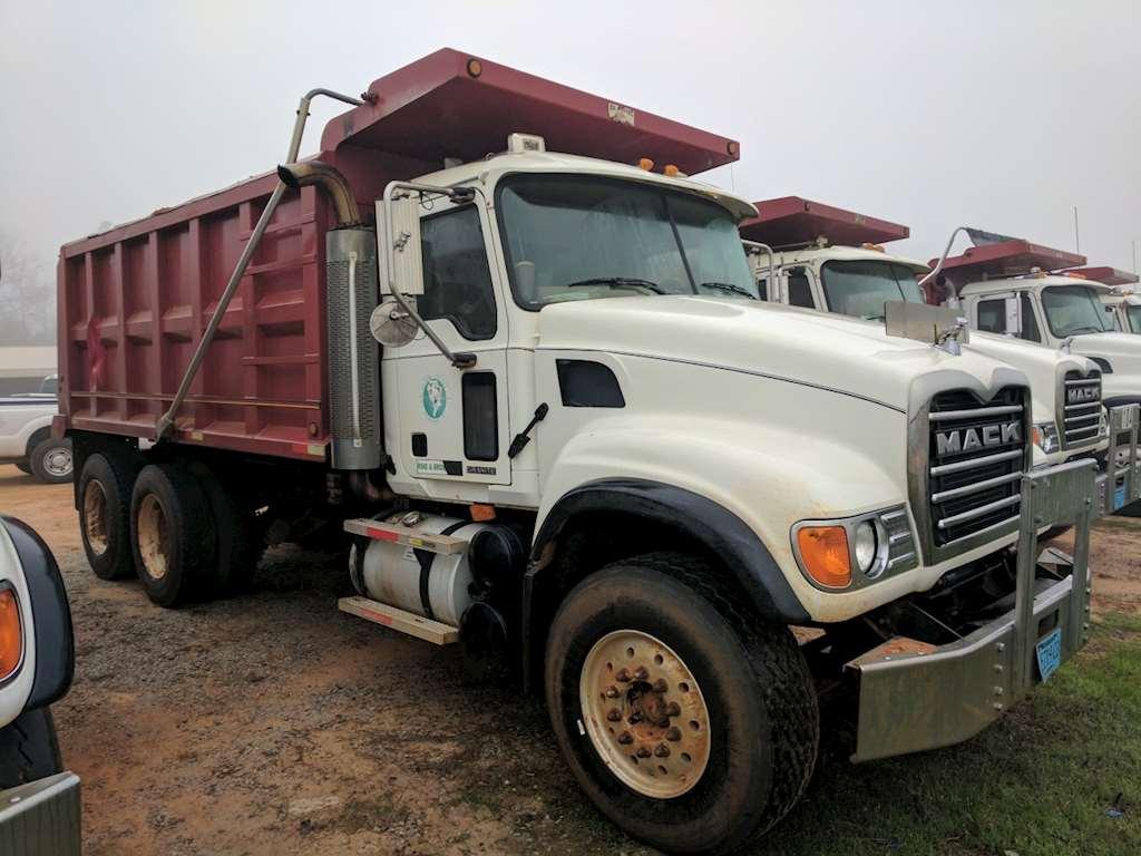 2007 mack cv713 dump truck for sale montgomery al 9014564. Black Bedroom Furniture Sets. Home Design Ideas