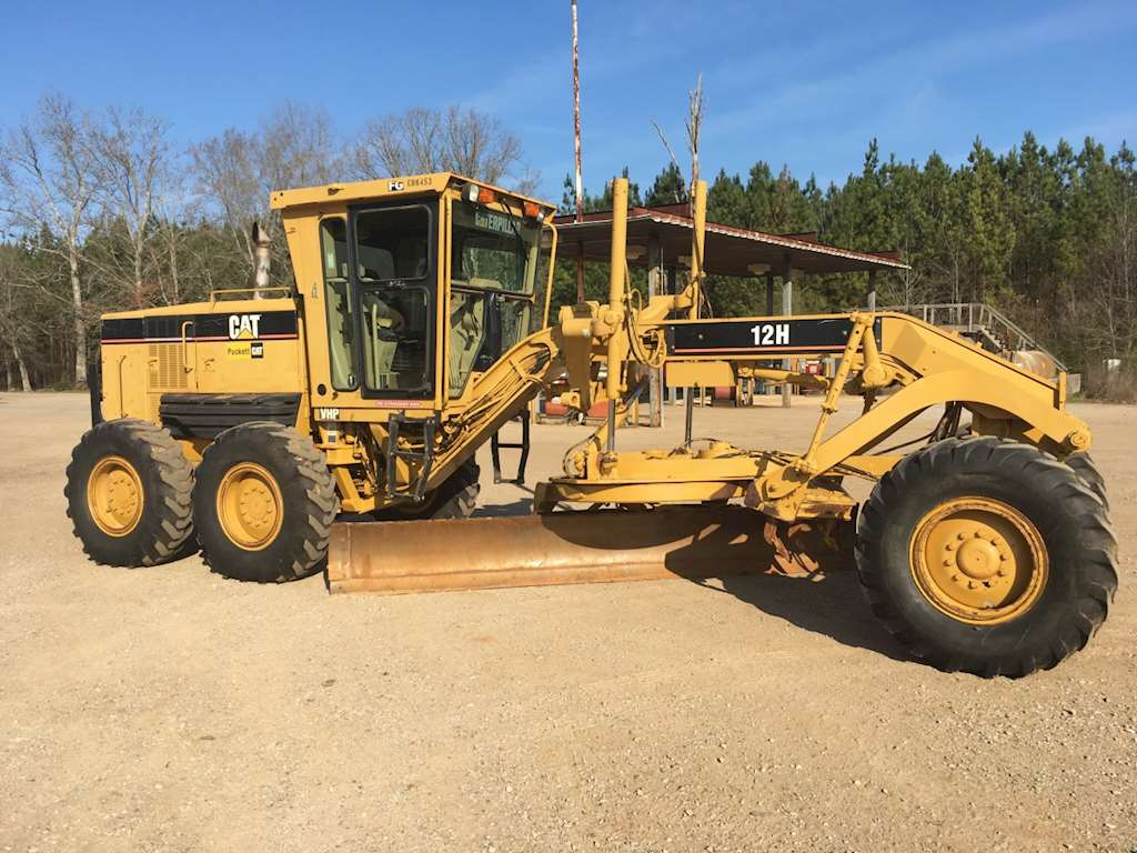 2004 caterpillar 12h motor grader for sale montgomery
