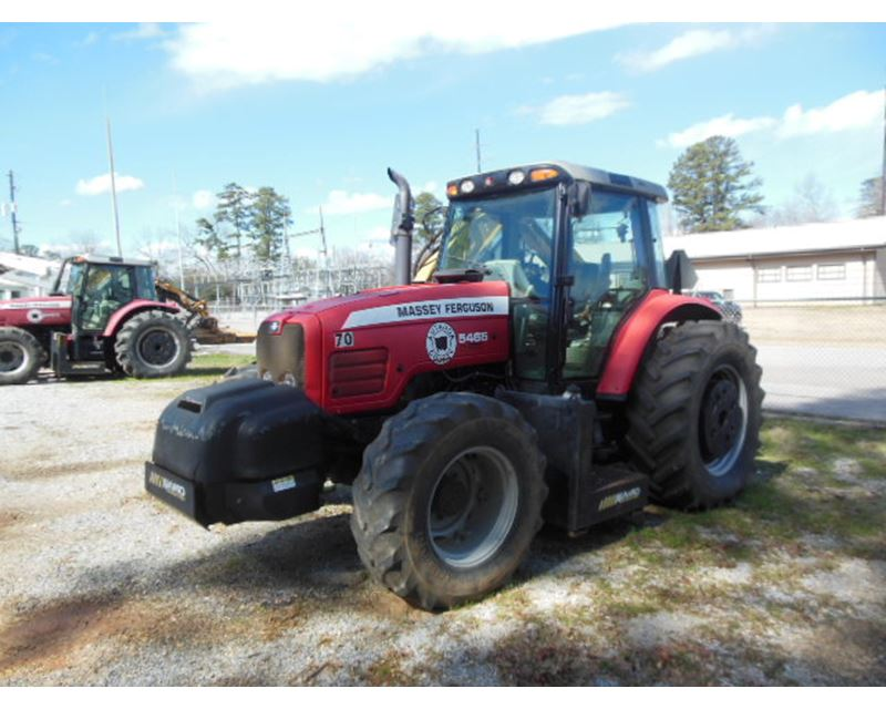 2006 Massey Ferguson 5465 Mfwd Tractor For Sale