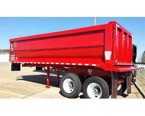 Hilbilt End Dump Semi Trailer