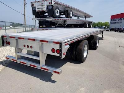 Road Warrior Trailer >> Mac Trailer 53 Ft Road Warrior Aluminum Flatbed Flatbed