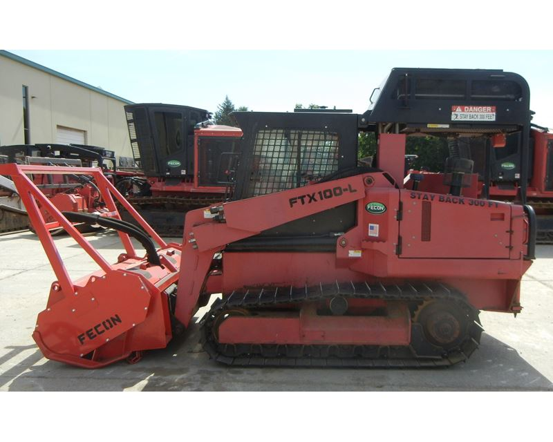Forestry Mulcher For Sale >> 2011 Fecon FTX100L Mulcher For Sale, 975 Hours | Cincinnati, OH | 8680480 | MyLittleSalesman.com