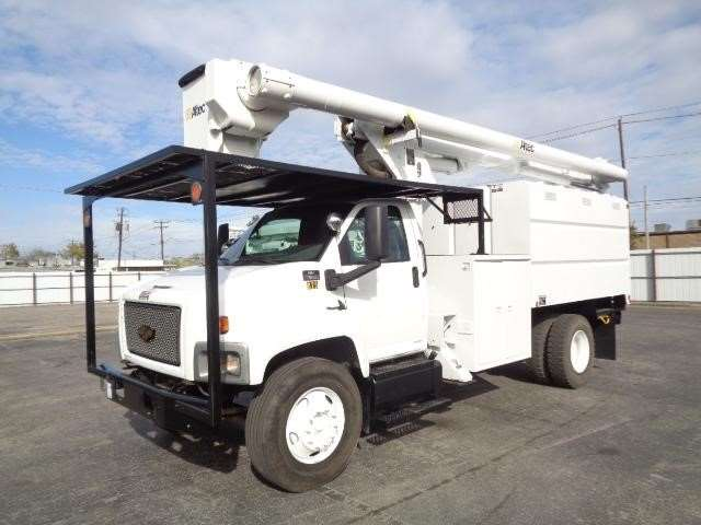 2006 chevrolet kodiak c7500 bucket boom truck for sale. Black Bedroom Furniture Sets. Home Design Ideas