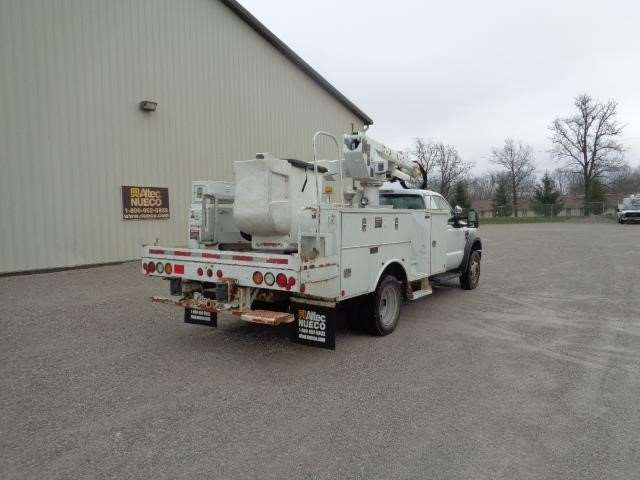 2009 ford f 550 bucket boom truck for sale 118 041 miles fort wayne in 47356562. Black Bedroom Furniture Sets. Home Design Ideas