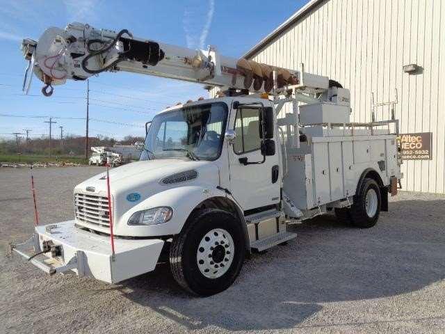 2008 freightliner m2 100 digger derrick truck for sale 51 102 miles fort wayne in 46470209. Black Bedroom Furniture Sets. Home Design Ideas