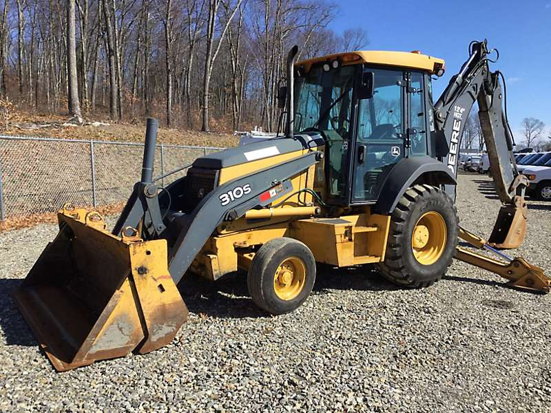 2010 john deere 310sj backhoe for sale shrewsbury ma 08307. Black Bedroom Furniture Sets. Home Design Ideas