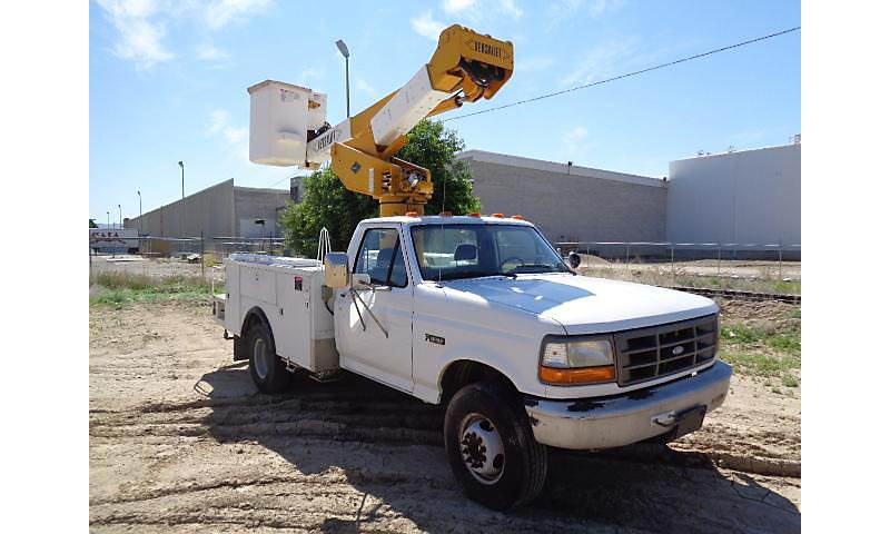 1995 Ford F-450 Boom / Bucket Truck For Sale, 37,043 Miles