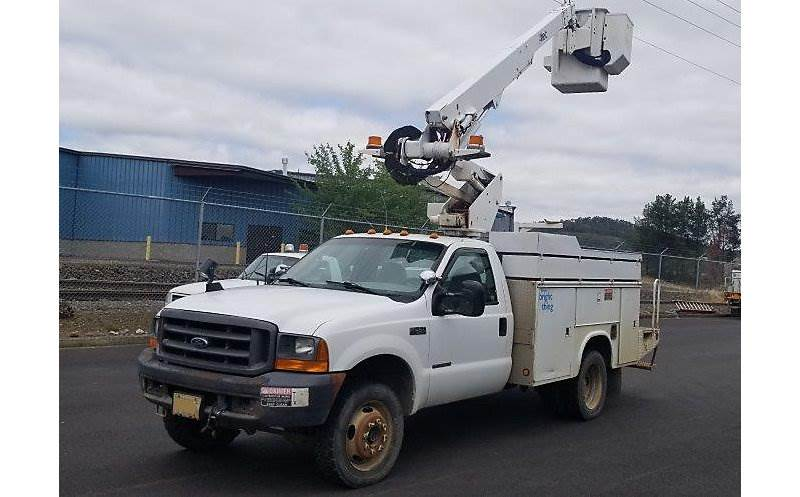 2000 Ford F-450 Boom / Bucket Truck For Sale, 8,771 Hours
