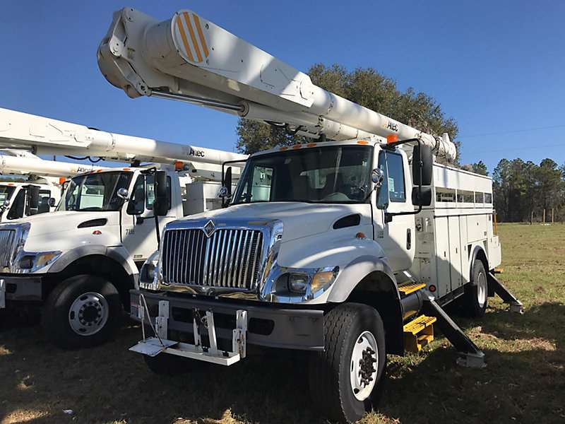 2006 international 7300 4x4 bucket boom truck for sale 95 409 miles ocala fl 220. Black Bedroom Furniture Sets. Home Design Ideas