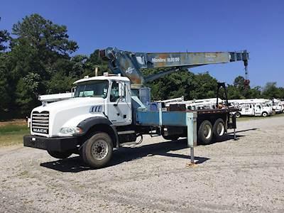 Mack Crane Trucks For Sale   MyLittleSalesman com