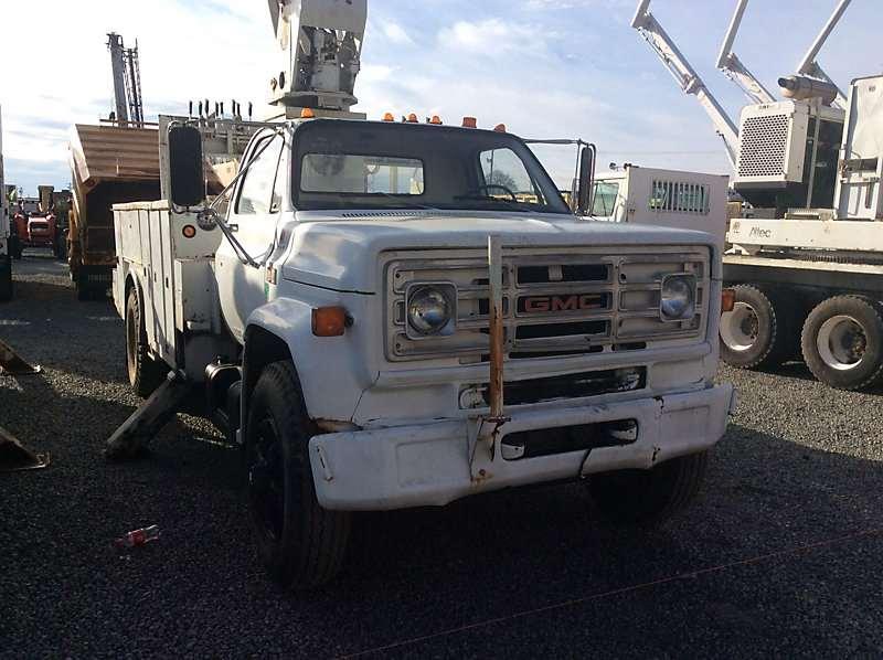 1990 Gmc 7000 Digger Derrick Truck For Sale  78 174 Miles