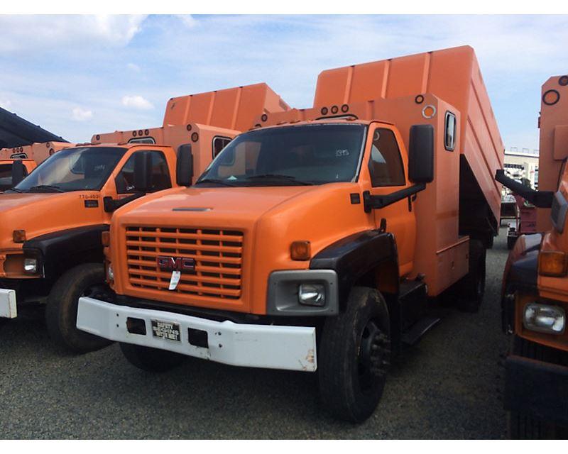 2000 gmc c6500 dump truck for sale concord nc 8420038. Black Bedroom Furniture Sets. Home Design Ideas
