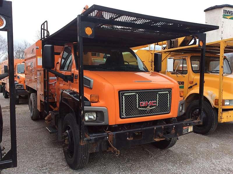2009 gmc c7500 dump truck for sale 38 255 miles verona ky. Black Bedroom Furniture Sets. Home Design Ideas