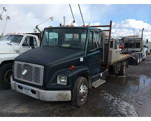 Freightliner FL60 Flatbed Dump Truck