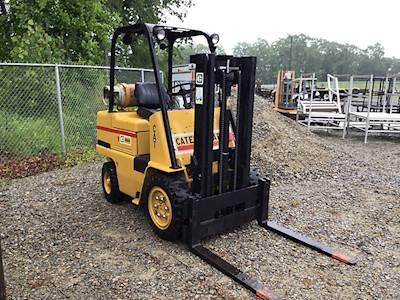 Caterpillar AH40 Mast Forklift For Sale | Madera, CA | 9214