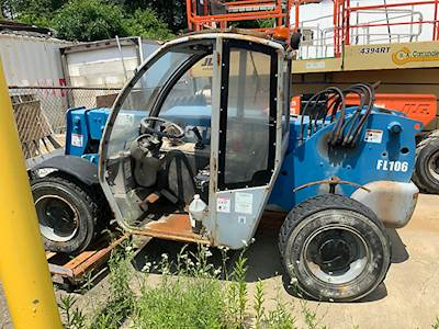 2006 Terex GTH-5519 5,500# 4x4 Mast Forklift