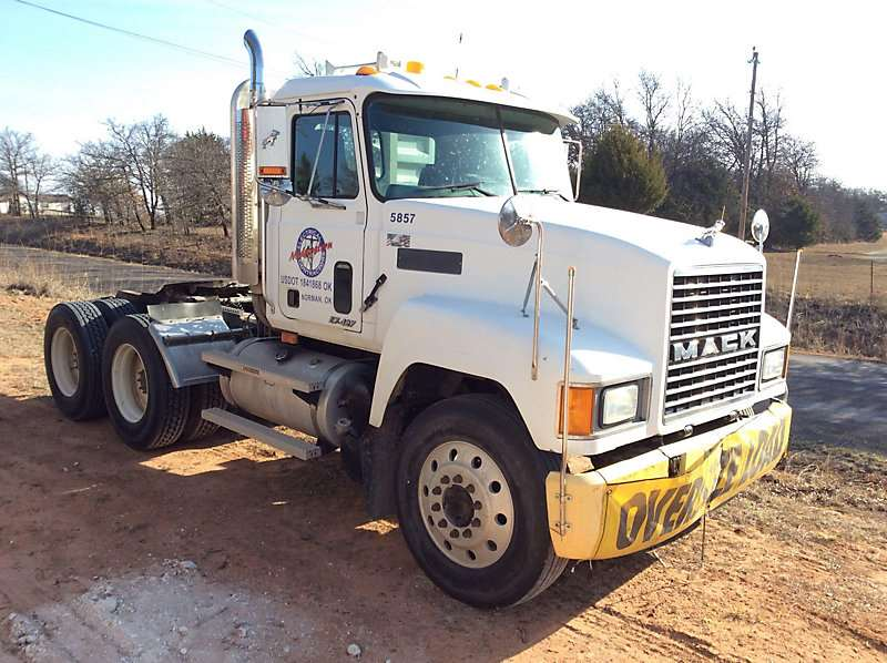 2000 Mack Tractor Truck : Mack ch day cab semi truck for sale waxahachie