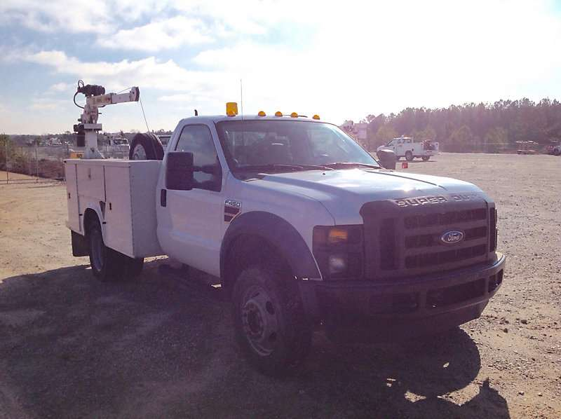 2008 Ford F 450 Mechanic Truck For Sale 131 975 Miles