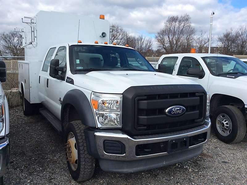 2011 ford f  utility truck for sale  104 584 miles