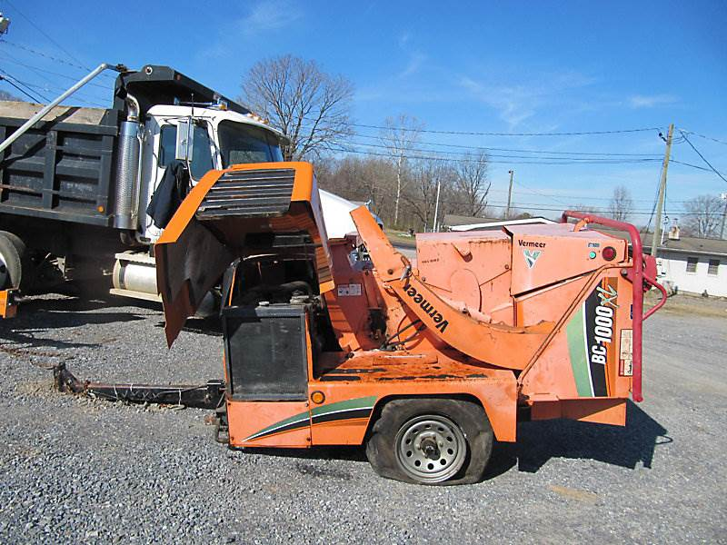 2008 Vermeer BC1000XL Chipper For Sale, 1,818 Hours | Wright
