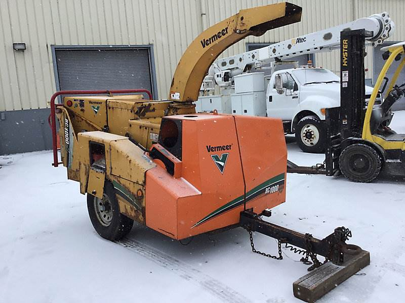 2007 Vermeer BC1000XL Chipper For Sale, 1,236 Hours   Wright