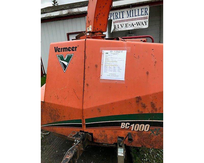2008 Vermeer BC1000XL Chipper For Sale | Wright City, MO