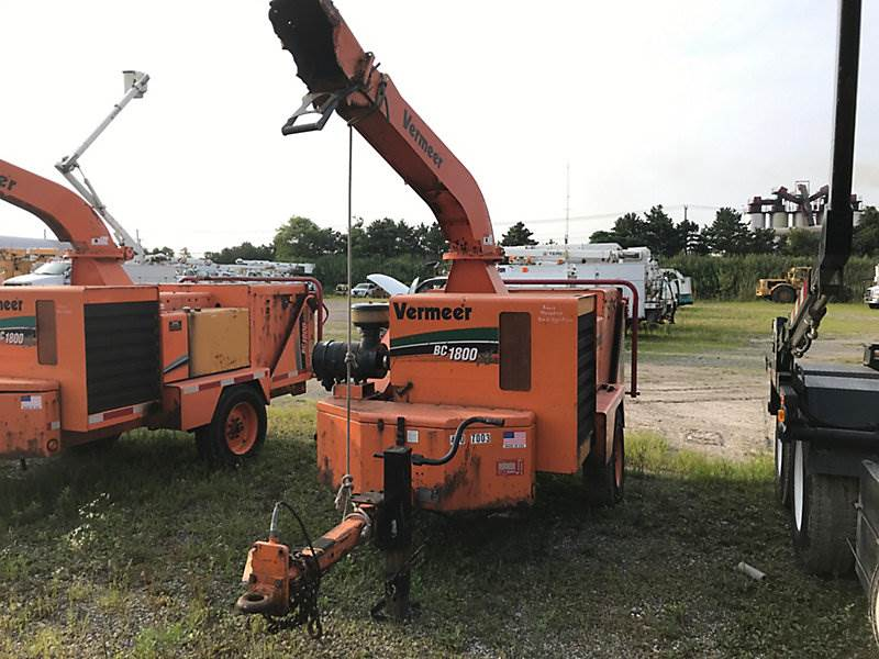 2007 Vermeer BC1800XL Chipper For Sale, 4,019 Hours | Wright