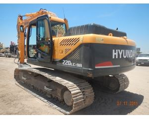 Hyundai R220LC9A Crawler Excavator
