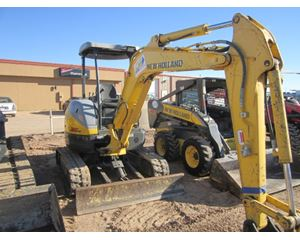 New Holland E35B Mini Excavator