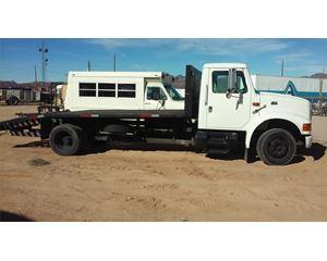 International 16FT Flatbed Truck Body