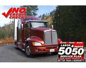 Kenworth T660 Flatbed Truck