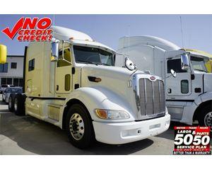 Peterbilt 386 Sleeper Truck