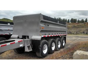 Knight Trailers End Dump Pup Trailer
