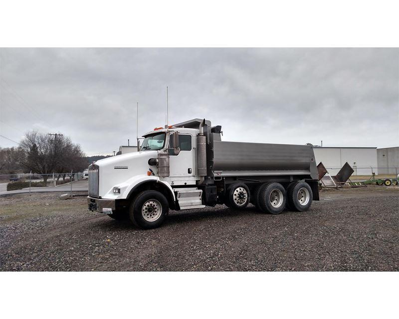 2007 Kenworth T800 Heavy Duty Dump Truck For Sale ...Kenworth Dump Trucks For Sale Washington