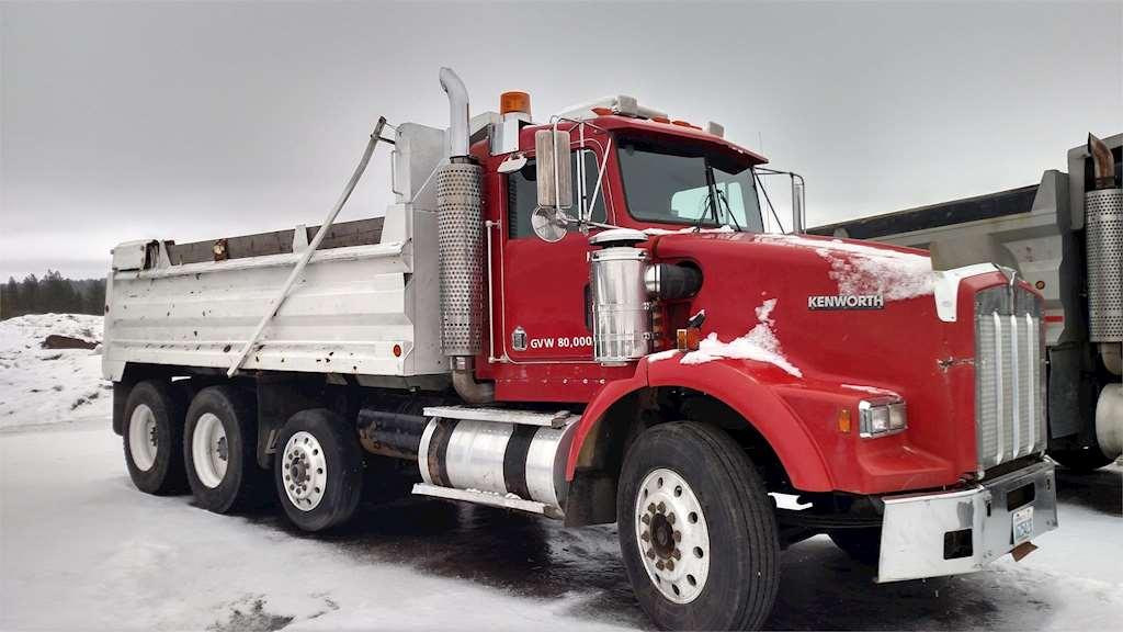 1990 Kenworth T800 Heavy Duty Dump Truck For Sale ...Kenworth Dump Trucks For Sale Washington
